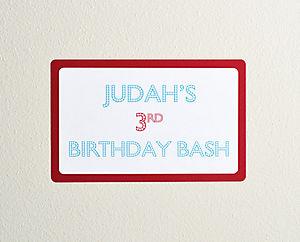 Baby j bday sign 2