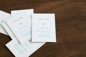 Xmas cookie cards
