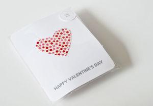 Packaged valentine