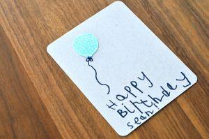 Bday card