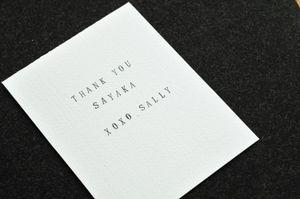 Fabric + card_handstamp