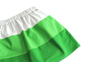 Skirt paint chip
