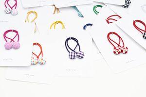 Hair tie stack