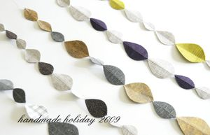 Handmade holiday 2009