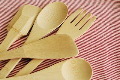 Kids cooking utensils