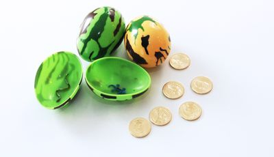 Dinosaur egg hunt