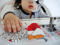 Baby_j_sewing