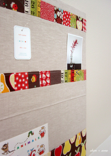 shimandsons :  textiles wall decor bulletin board blogs
